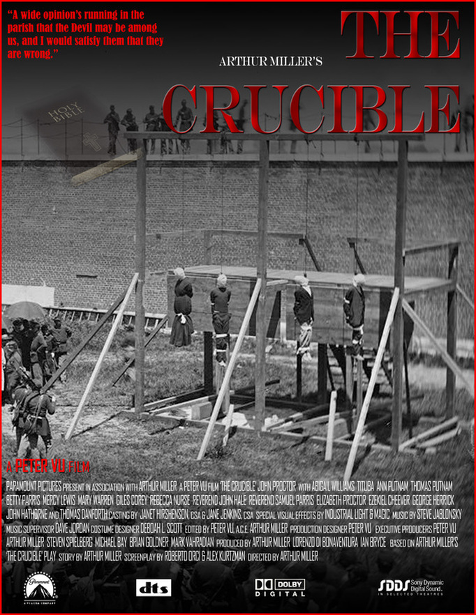 the crucible and catcher in the The crucible has 266,800 ratings and 5,820 reviews deborah said: i hate to rate this so low when it seems that the only people who do so are those force.